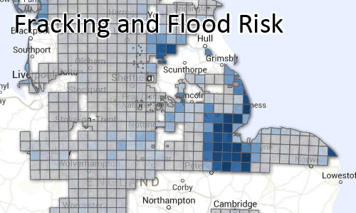 Fracking and Flood Risk (England)